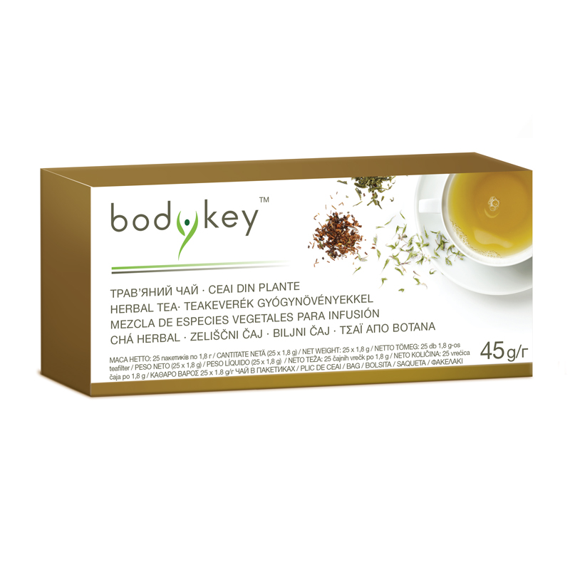Chá herbal bodykey